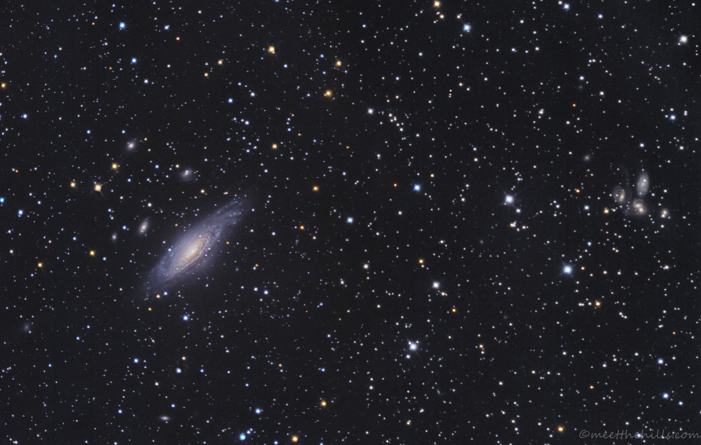 NGC7331 & Stephan's Quintet