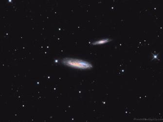 NGC 7537/7541/7581 in Pisces