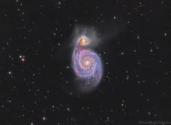 M51 - Whirpool Galaxy