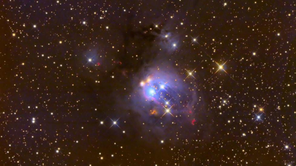 NGC 7129 in Cepheus