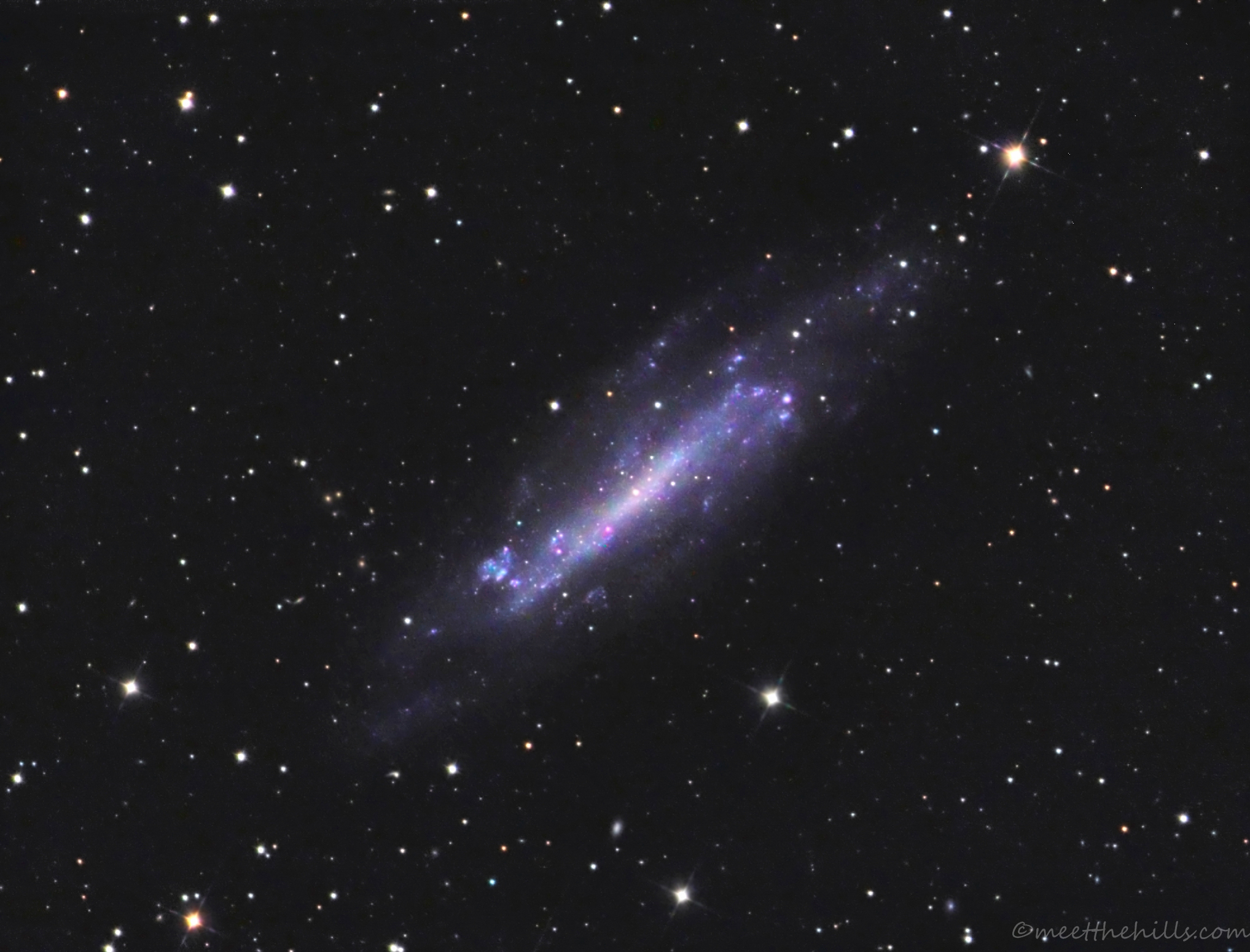 NGC4236 - Spiral Galaxy in Draco