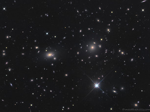 Galaxies galore (Abell 1656 cluster in Coma Berenices)