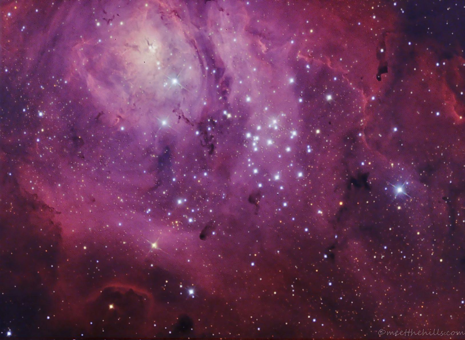 Messier 8 - Lagoon nebula