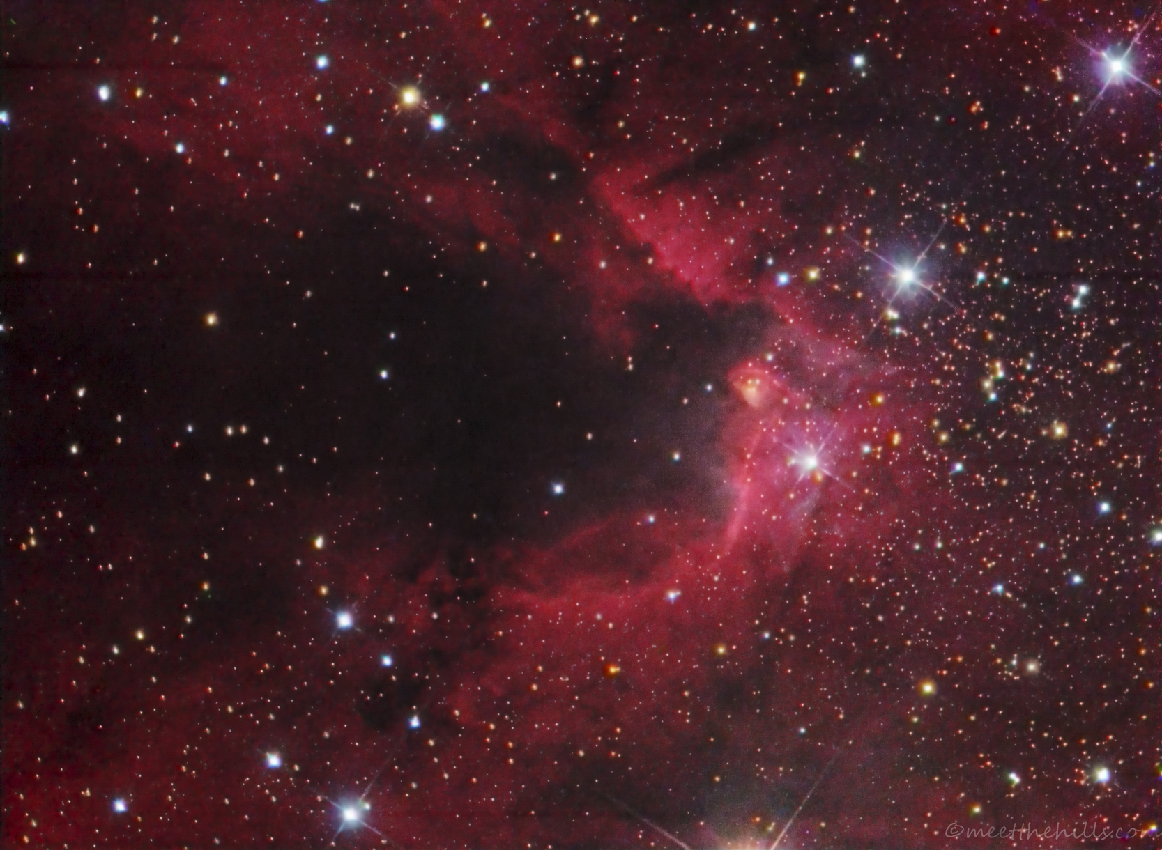 Caldwell 9 - Cave nebula