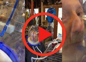 Helmet Improvement Ideas -  Liquids Intake into Sea-Long Pressurized Helmet