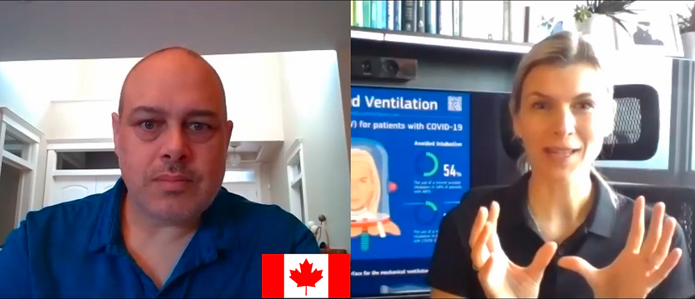 A Canadian Physician Share Not Only His Experiences With Helmetbased Ventilation System But Also The Design With Others During COVID-19 Pandemic