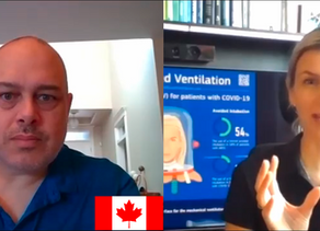 Canada getting on board with helmet-based ventilation as worldwide efforts continue to combat COVID
