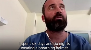 Fausto Russo - Spending Six Days and Six Night Wearing a Breathing Helmet