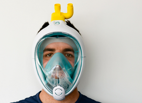 Engineers in Italy create a valve to convert snorkeling mask for COVID-19 patient ventilation