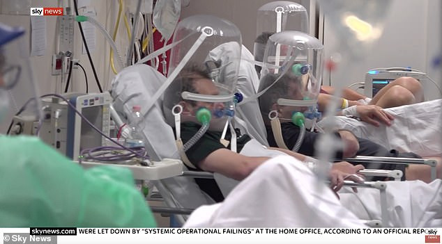 Video - Staff and Patients Wearing Helmets