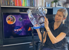Hands-On Review - NIV Positive Pressure Helmet from NASA,  Virgin Galactic & The Spaceship Company