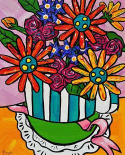 gerbera-roses-hat-box-painting-brydie-pe