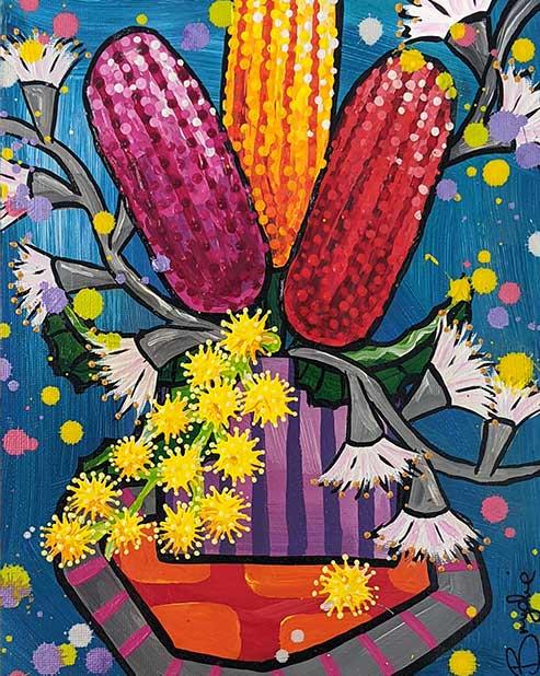 banksia-wattle-gum-painting-brydie-perki