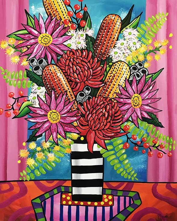 australian-native-flower-painting-brydie