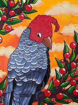 gang-gang-cockatoo-painting-brydie-perki