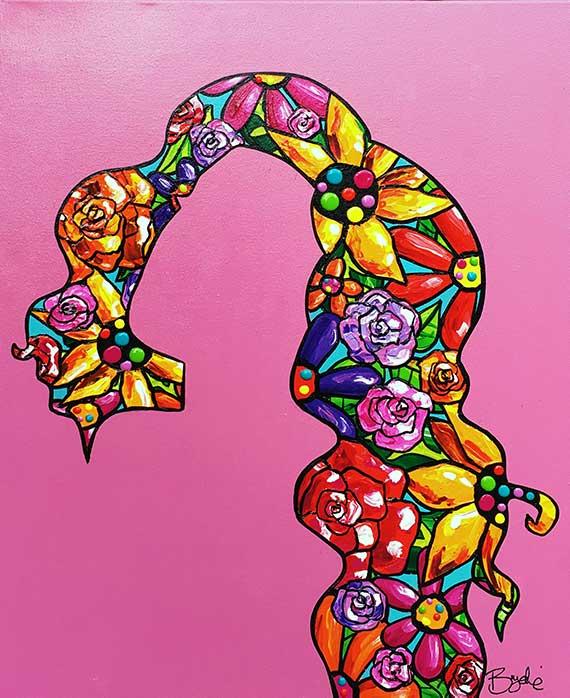 silhouette-floral-portrait-painting-bryd