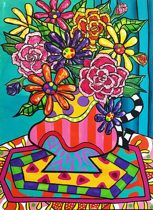 peony-gerbera-painting-brydie-perkins-br
