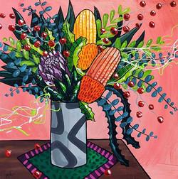pink-protea-banksia-eucalyptus-painting-