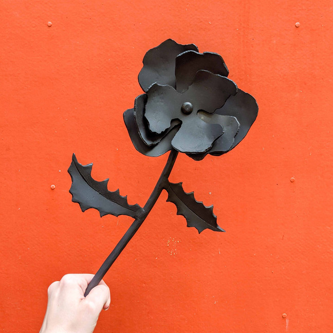 Learning to Blacksmith - Making a Rose