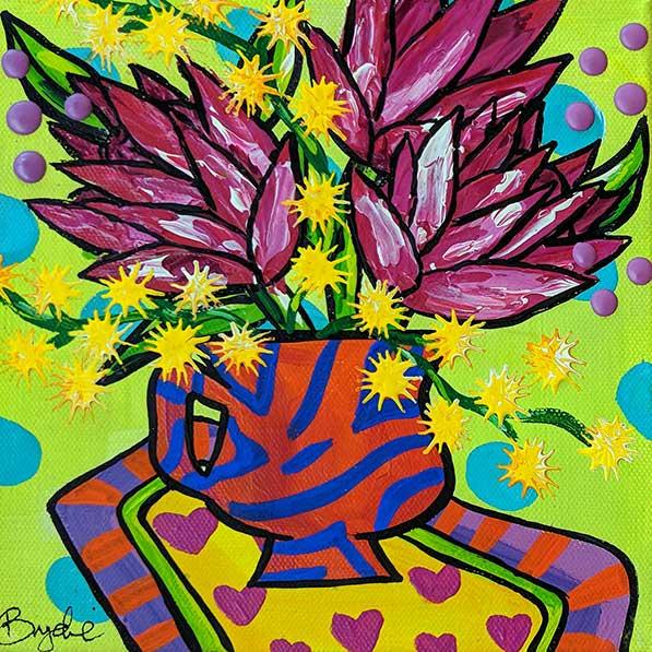 protea-wattle-painting-brydie-perkins-br