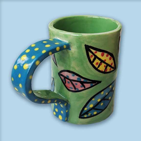 leaf-mug-ceramic-brydie-perkins-brakels-