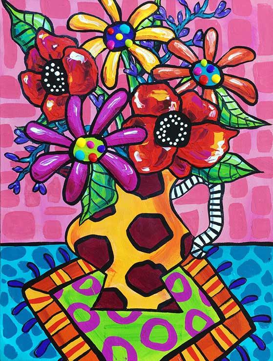 gerbera-poppy-painting-brydie-perkins-br