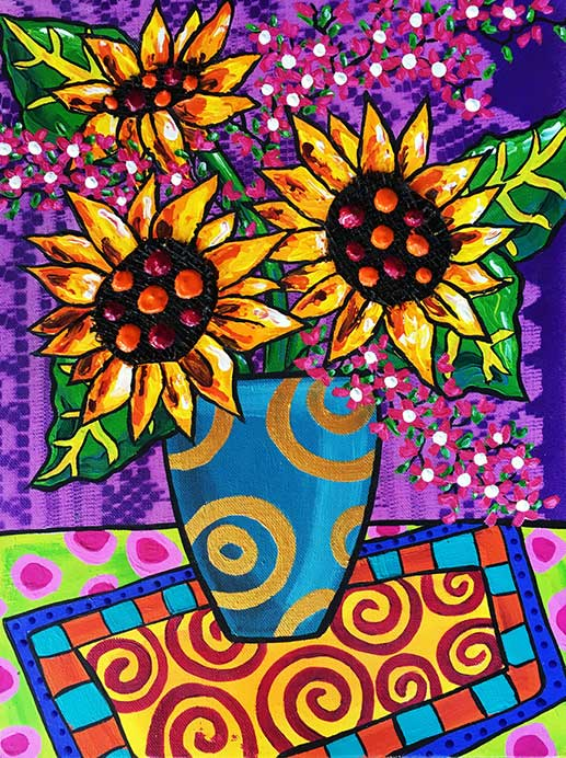 sunflowers-and-lace-painting-brydie-perk