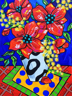 poppies-and-wattle-painting-brydie-perki