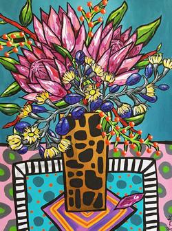 pink-protea-eucalyptus-painting-brydie-p