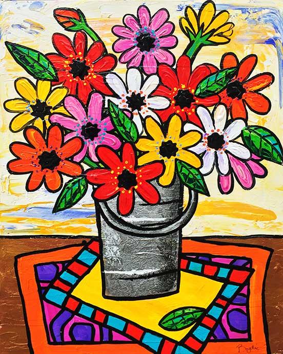 gerberas-in-bucket-painting-brydie-perki
