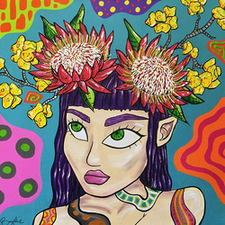 girl-with-protea-painting-brydie-perkins