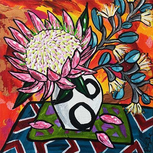 protea-flowering-gum-painting-brydie-per