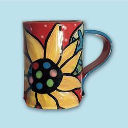 sunflower-mug-ceramic-brydie-perkins-bra