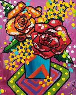 orange-red-roses-painting-brydie-perkins