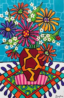 gerberas-pattern-painting-brydie-perkins