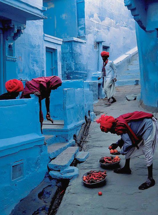 Jodhpur - A cidade azul - Rajastão