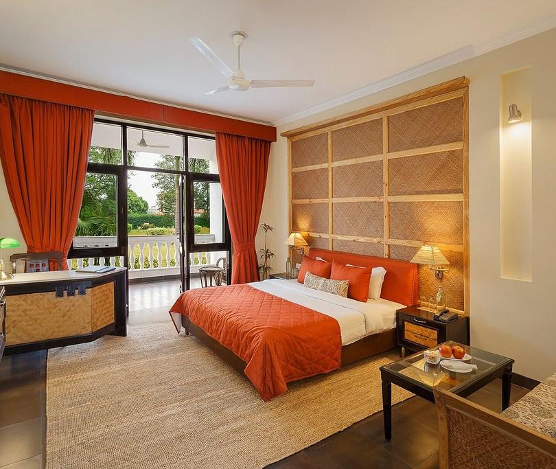 Quarto Super de Lux club Hotel e spa Naturoville Rishikesk