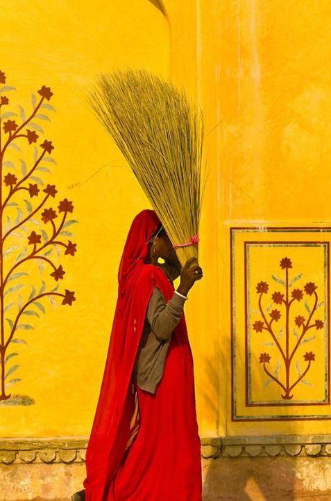 moradores de Jaipur