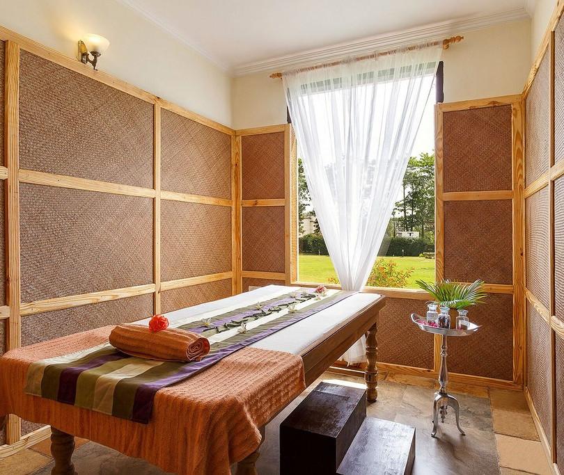 Sala de tratamento Ayurvédico do Spa Naturoville