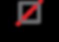 Red thread bag logo