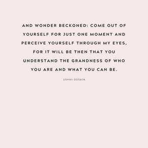I am Wonder.