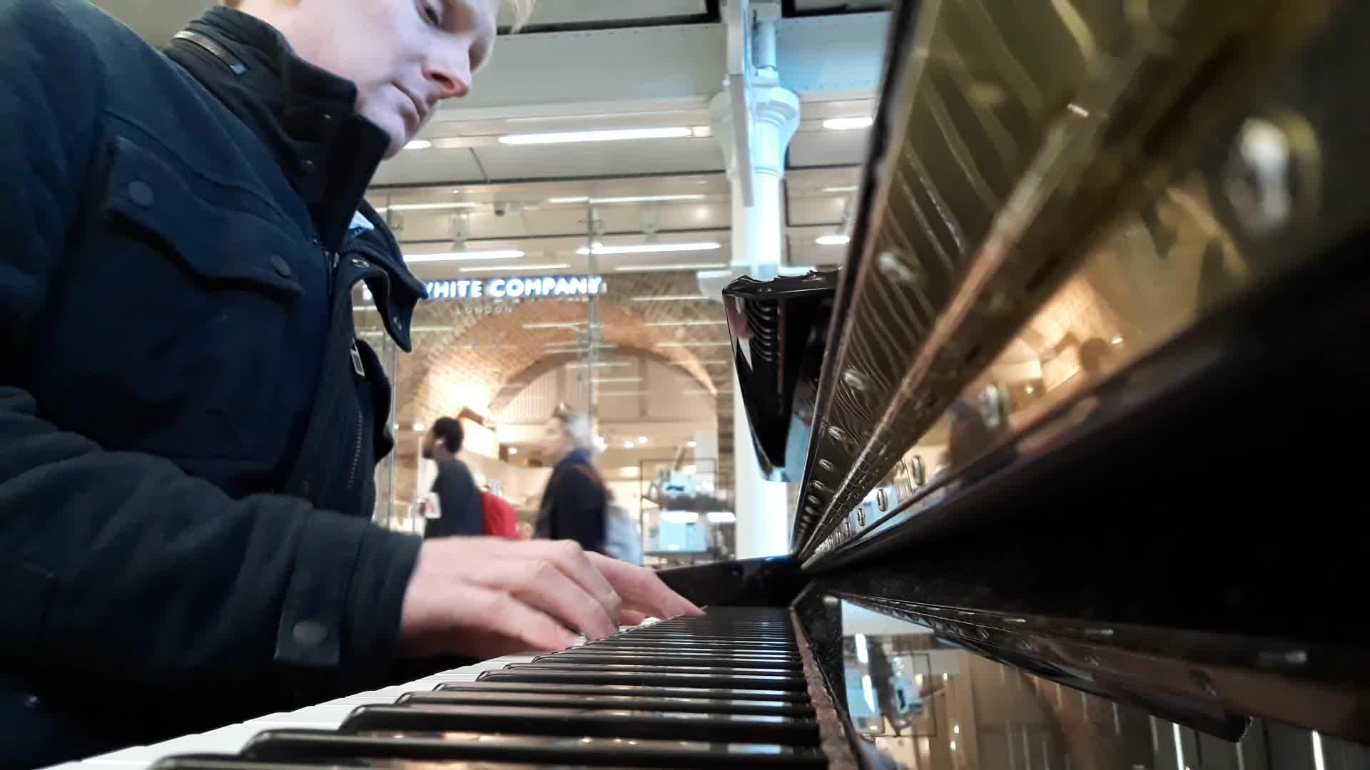 Eleven Months [St Pancras Piano Version]