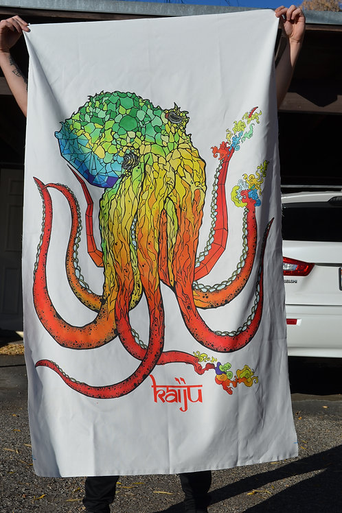 Existential Octopus Tapestry
