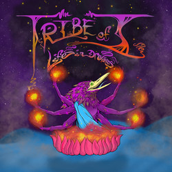 """Album Cover for Tribe of I's latest album, """"Life in Dreams."""""""