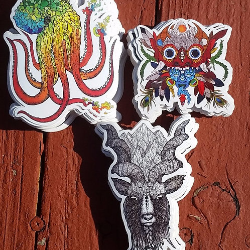 Various Stickers