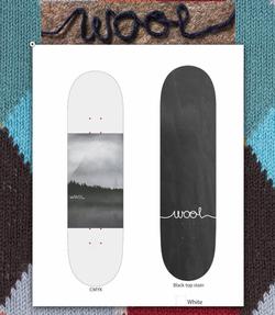 "Wool Skateboards ""Monster"" Deck"