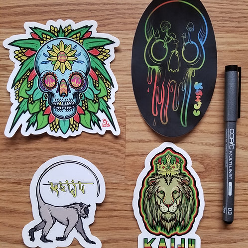Signature Sticker Pack