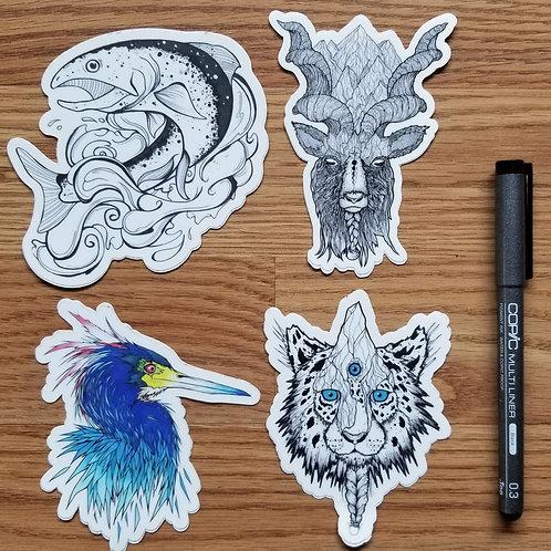Wild Sticker Pack