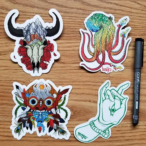 Deities Sticker Pack