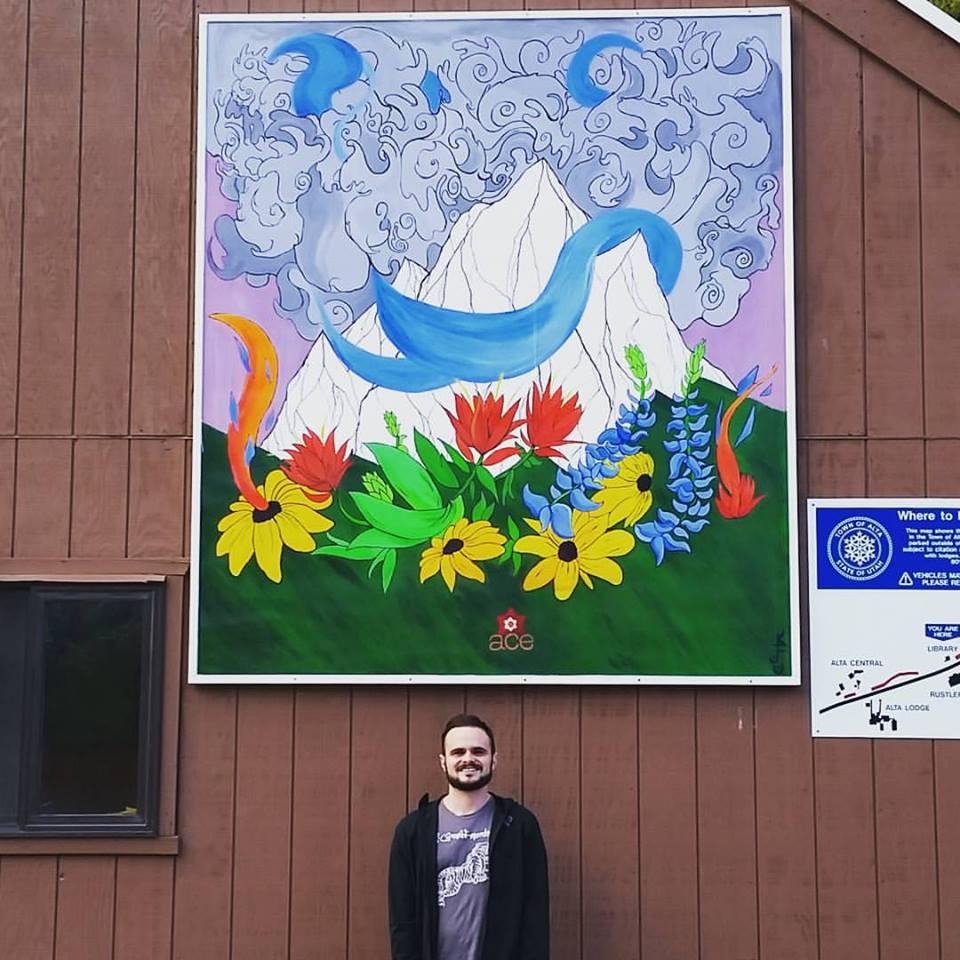 Mural at Alta